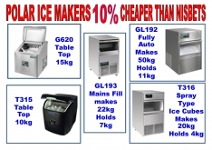 ICEMAKERS by POLAR - K.F.Bartlett LtdCatering equipment, refrigeration & air-conditioning
